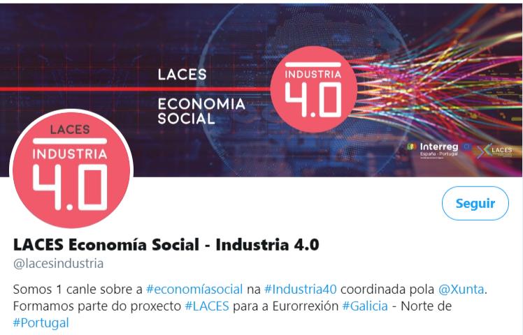 LACES Industria 40 cabecera Twitter