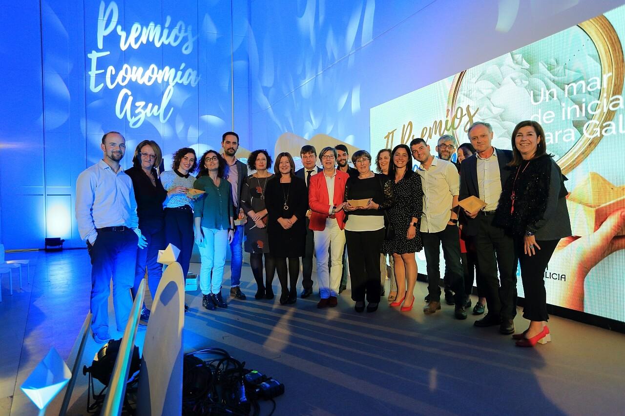 II Premios Economia Azul premiados
