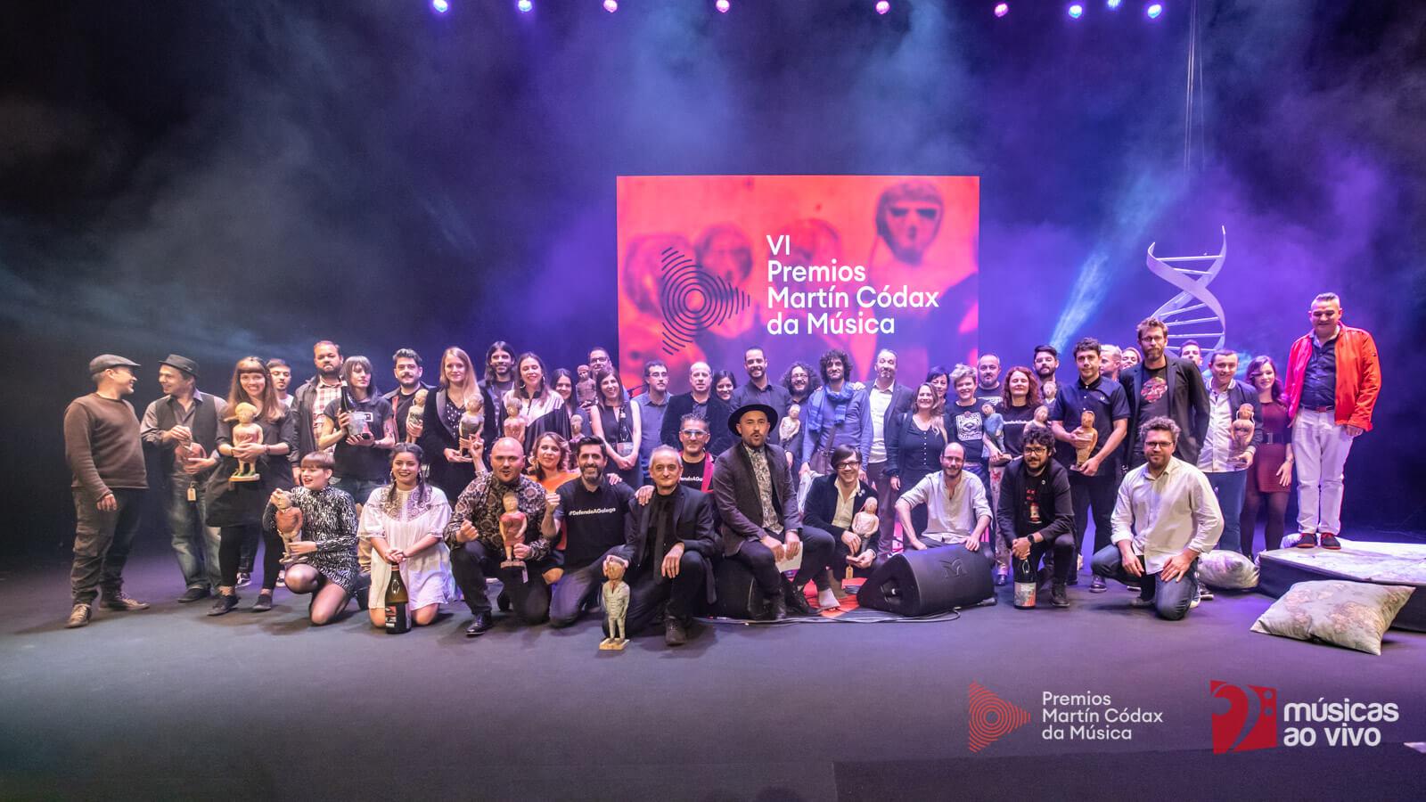 Premiados Premios Martín Códax